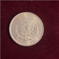 1921 U.S Morgan Dollar 80% Silver