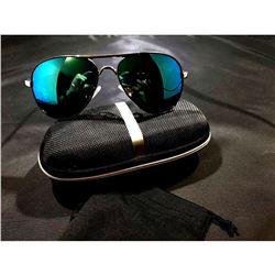 Super Cool Polarized UV 00 Sunglasses in Blue Frame w/Blue Lens' Â