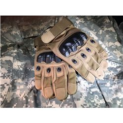 Army Combat Gloves (Knife and camo for demo purposes only and not included)
