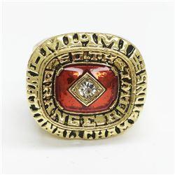 1984 Miami Hurricanes NCAA Football National Championship Ring - Sonny Hirsch