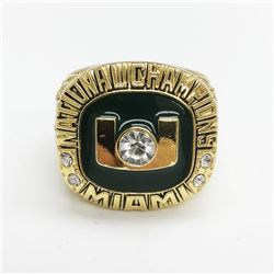 2002 Miami Hurricanes NCAA Football National Championship Ring - Boylan