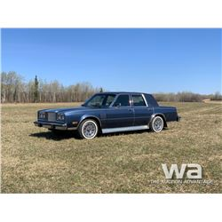 1987 CHRYSLER 5TH AVENUE CAR