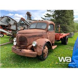REO S/A  ANTIQUE TRUCK