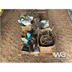PALLET WITH CB RADIOS & ELECTRICAL