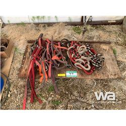 QUANTITY OF HALTERS & LEAD ROPES