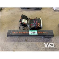 BATTERY TESTERS & FORCE MULTIPLIER