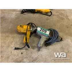"""(2) 1/2"""" ELECTRIC IMPACT WRENCHES"""