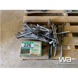 WRENCHES & MULTI TESTER