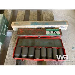 IMPACT SOCKETS & TORQUE WRENCH
