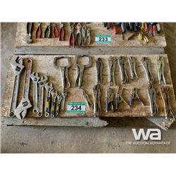 ADJUSTABLE WRENCHES & VISE GRIPS