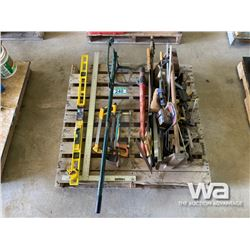 WOOD WORK TOOLS, CANT HOOK, LEVEL