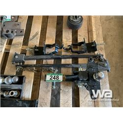 """HD 2 5/16"""" BALL HITCH WITH STABLIZER BARS"""