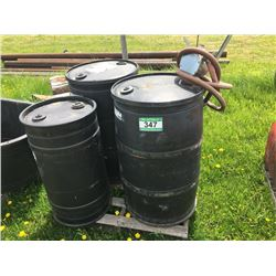 BLACK POLY BARRELS & PUMP