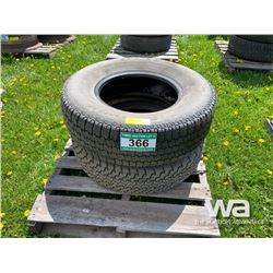 (2) BRIDGESTONE 235/75R15 TIRES