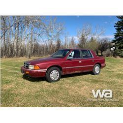 1992 DODGE SPIRIT 4-DOOR CAR