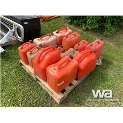 PALLET OF JERRY CANS
