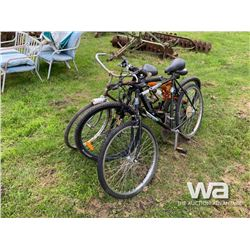 (3) ADULT BICYCLES