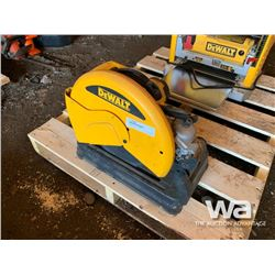 "DEWALT 14"" CUT OFF SAW"