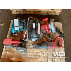 SKIL GRINDER, SKIL SAW, CHARGER, SABRE SAW