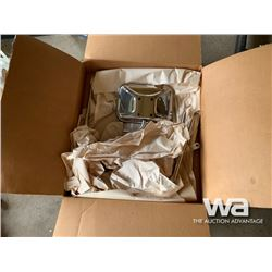 CHROME TRAILER TOW MIRRORS