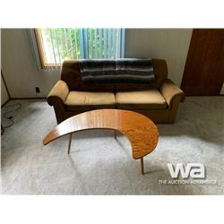 COUCH, CHAIR, & COFFEE TABLE