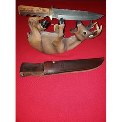 ONE OF A KIND HAND MADE BOWIE KNIFE
