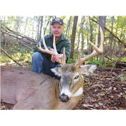 Five Star Ohio Whitetail Hunt for 2 Hunters