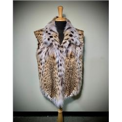 American Cat Lynx Vest by Alaska Fur Gallery
