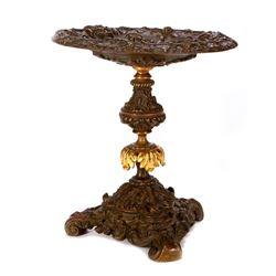 A Grand Tour bronze compote.