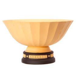 Wedgwood Yellow Jasperware Vase