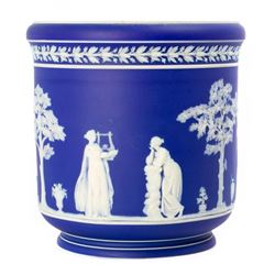 A Wedgwood vase.