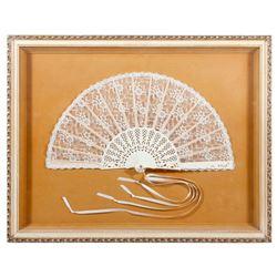 19th century fan.