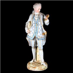 A French Vion and Baury figure.