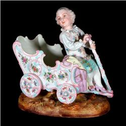 Continental bisque figure of child.