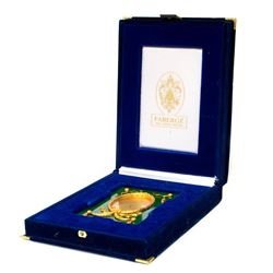 A Faberge frame with box.