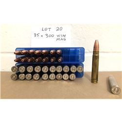 AMMO:  35 X .375 RUGER - RELOADED