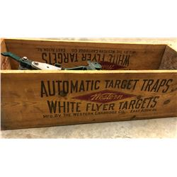 WINCHESTER - WESTERN 1930'S TRAP MACHINE