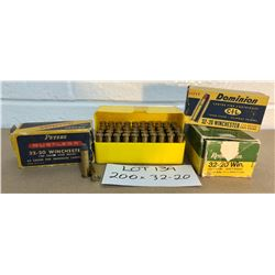 AMMO: 200 X .32-20 - SOME RELOADS