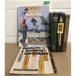 GR OF 4, HUNTING BOOKS
