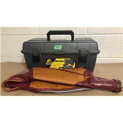 GR OF 2, PLANO PLASTIC BOX & SOFT GUN CASE