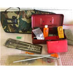 GUN CLEANING ACCESSORIES & LONG GUN SOFT CASE