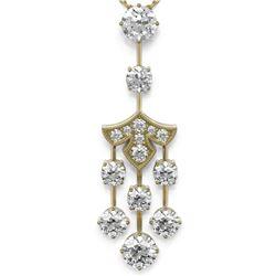 2.75 ctw Diamond Designer Necklace 18K Yellow Gold