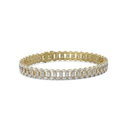 20 ctw Pear and Marquise Diamond Bracelet 18K Yellow Gold