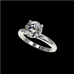 2.50 ctw Certified Quality Diamond Engagement Ring 10K White Gold