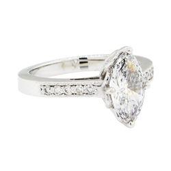 1.46 ctw Diamond Ring - 14KT White Gold