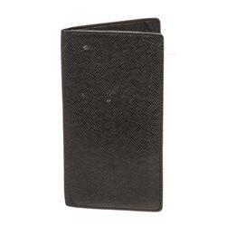 Louis Vuitton Black Taiga Leather Portefeuille Ron Long Wallet