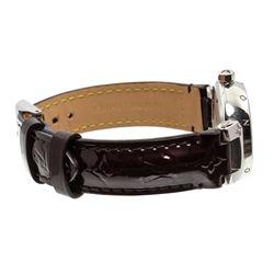 Louis Vuitton Vernis Amarante Tambour Q12M3 Watch