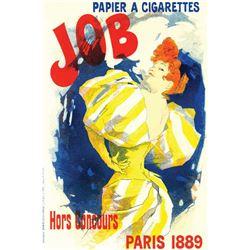 Jules Cheret - Papier Cigarettes Job