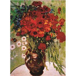 Vincent Van Gogh Daisies & Poppies