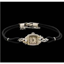 Vintage Bulova Diamond Ladies Watch